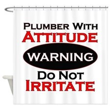 Unique Attitude Shower Curtain
