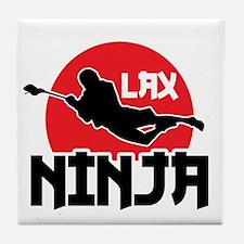 Lacrosse Ninja Tile Coaster