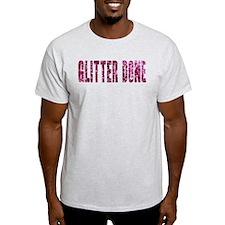 Glitter Done V T-Shirt