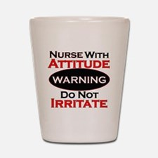 Funny nurse Shot Glass