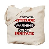 Nurse funny Canvas Bags