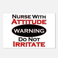 Unique Nurses Postcards (Package of 8)