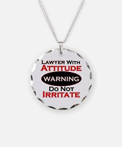 Cute Attorney Necklace