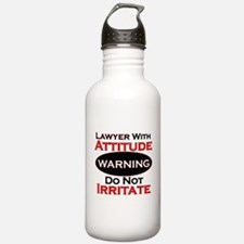 Funny Lawyer Water Bottle