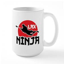 Lacrosse Ninja Mug