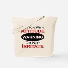 Cute Warning Tote Bag