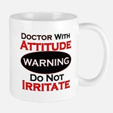 Unique The doctor is in sign Mug