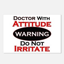 Unique Warning Postcards (Package of 8)