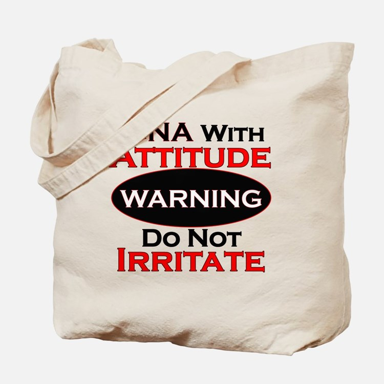 Cute Attitude Tote Bag