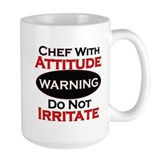 Chef Large Mugs (15 oz)