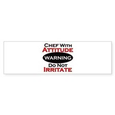 Cute Chefs Bumper Sticker