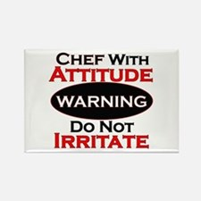 Cute Chef Rectangle Magnet (100 pack)