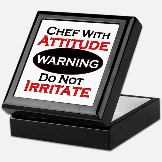 Cute Chefs Keepsake Box