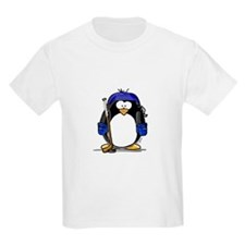 Hockey Penguin Kids T-Shirt
