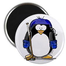 Hockey Penguin Magnet