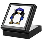 Hockey Penguin Keepsake Box