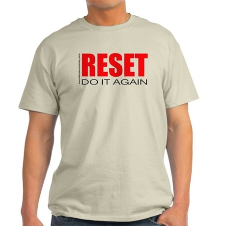 reset wht T-Shirt