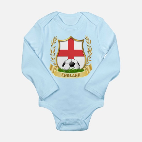 England World cup Soccer Long Sleeve Infant Bodysu