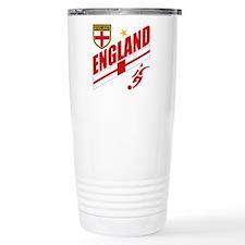 England World cup Soccer Travel Mug