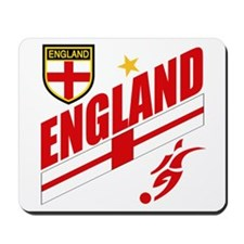 England World cup Soccer Mousepad