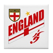 England World cup Soccer Tile Coaster