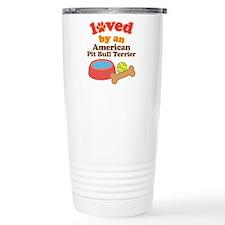American Pit Bull Terrier Gift Travel Mug