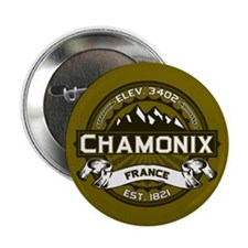 "Chamonix Olive 2.25"" Button"