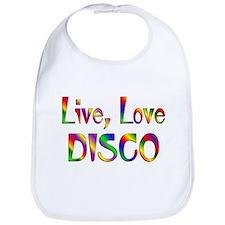 Live Love Disco Bib