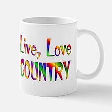 Live Love Country Mug