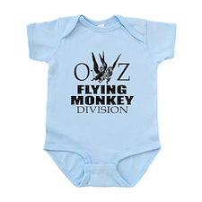 Unique Flying monkeys Infant Bodysuit