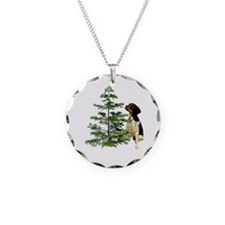 Bird Dog Tree Necklace