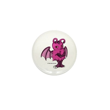 Pink Gretchling Mini Button
