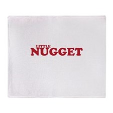 Cute Little nugget Throw Blanket