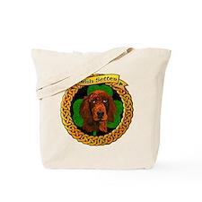 Irish Setter Celtic Tote Bag