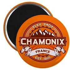 Chamonix Tangerine Magnet