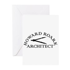 Howard Roark Greeting Cards (Pk of 10)