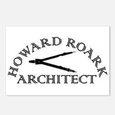 Howard Roark Postcards (Package of 8)
