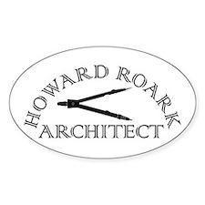 Howard Roark Decal