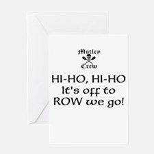 montley crew 4 hi-ho Greeting Cards