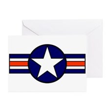 1947 USAF Aircraft Insignia Greeting Cards (Packag