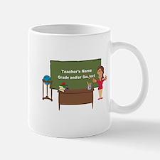 Cartoon Teacher Appreciation Female Mug