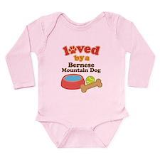 Bernese Mountain Dog Gift Long Sleeve Infant Bodys