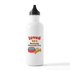 Bernese Mountain Dog Gift Water Bottle