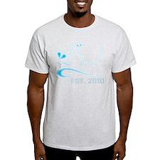 100% PERU Ash Grey T-Shirt