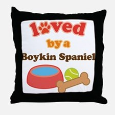 Boykin Spaniel Dog Gift Throw Pillow