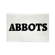 Cute Abbot Rectangle Magnet
