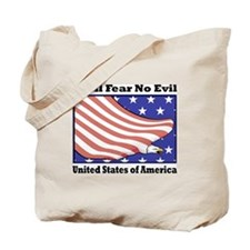 Fear No Evil Tote Bag
