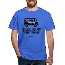 Chelsea Bus To Munich T-Shirt