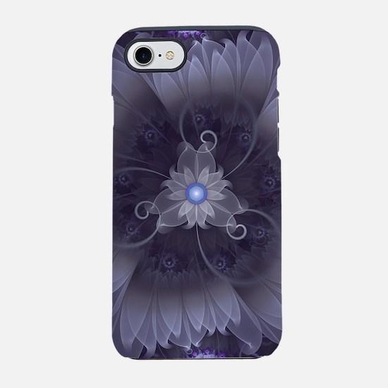 Amazing Fractal Triskelion Pur iPhone 7 Tough Case