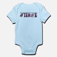 She is Fierce - Ecelectic Infant Bodysuit